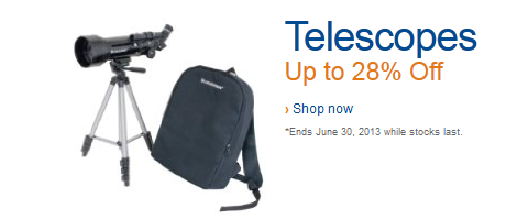 telescopes deals