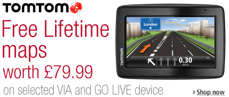 tomtom free lifetime maps